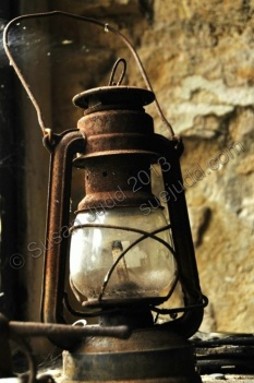 Rusted lantern