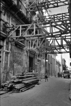 Wooden Scaffolding, Old Havana, Cuba