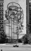 Giant Che Guevara mural, Havana
