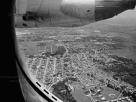 Havana seen from the air in 2005 from a 1960s Antonov