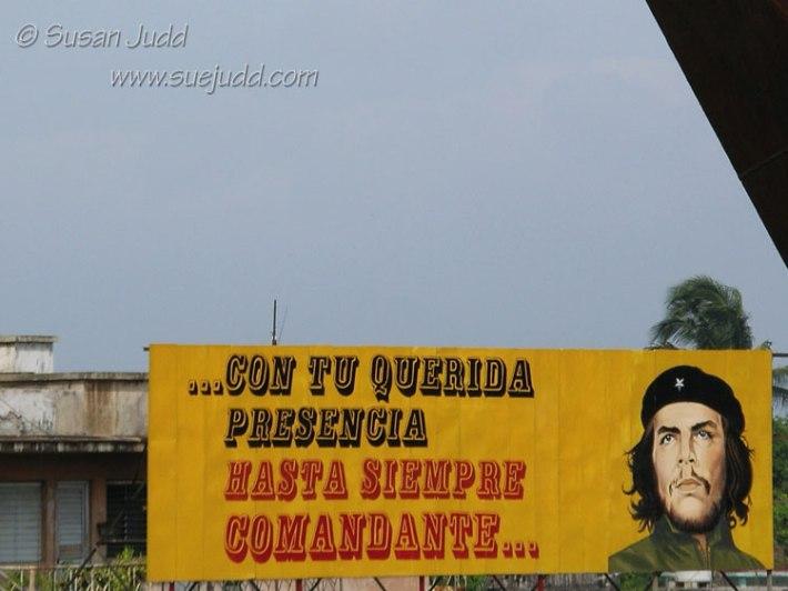 Che Guevara placard