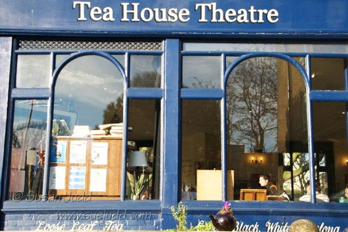 Main window, Tea House Theatre