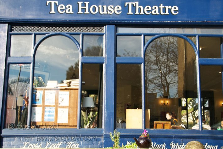 Main window, Tea House Theatre