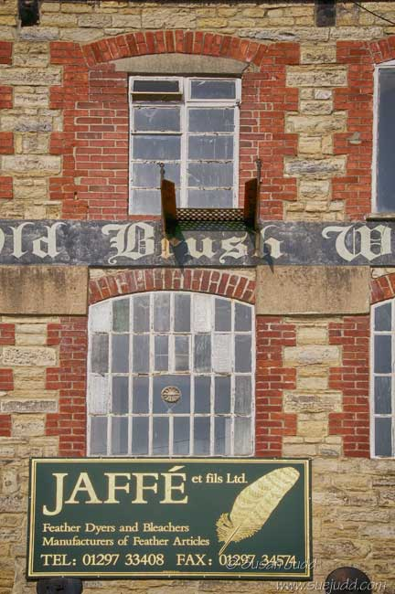 Axminster feather factory windows