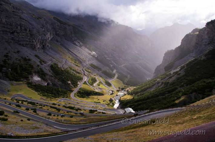 Stormclouds over the Stelvio