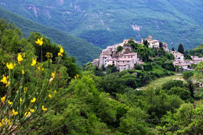 Typical hill village, Umbria