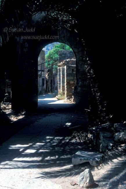 Dark archway