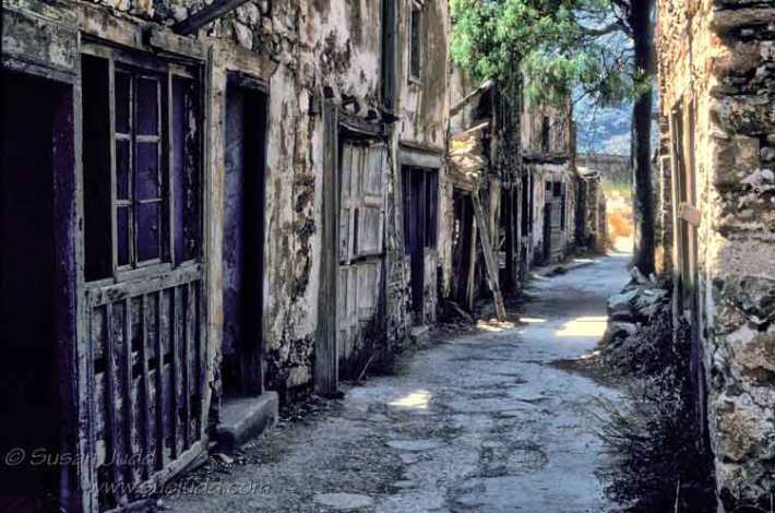 Main street, Spinalonga