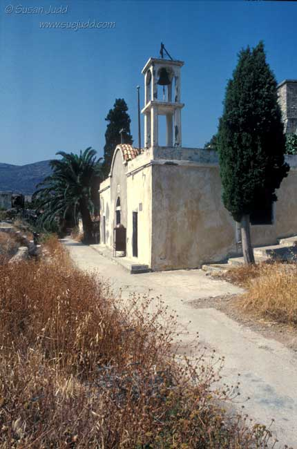 Spinalonga church