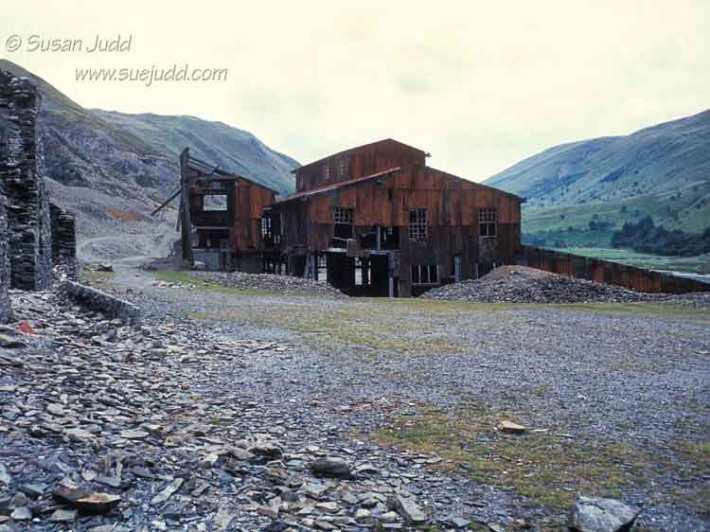 Slate Dressing mill, Cwmystwyth mine