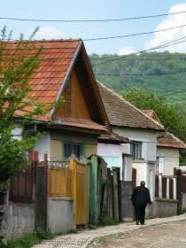 Solitary in Transylvanian village