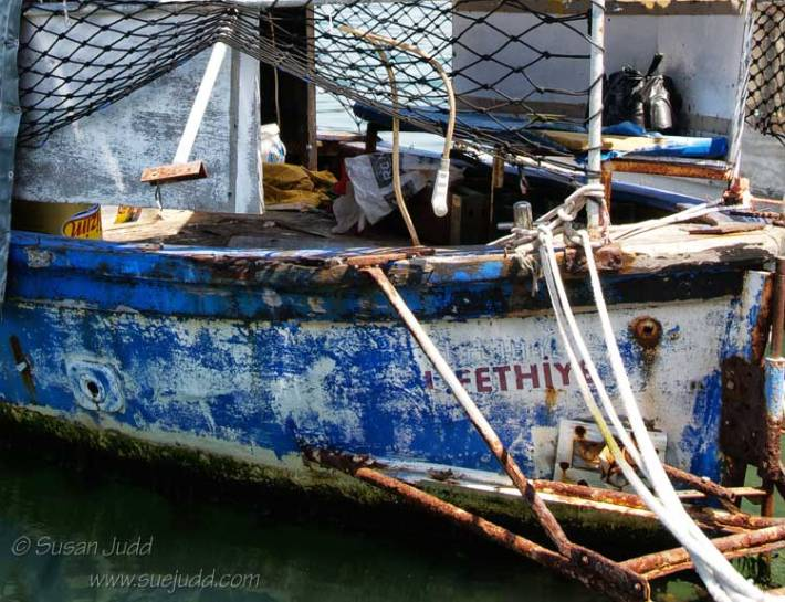 Old boat, Fethiye harbour