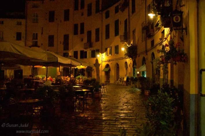Piazza del Anfiteatro, Lucca, Tuscany