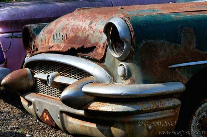 Abandoned and rusty