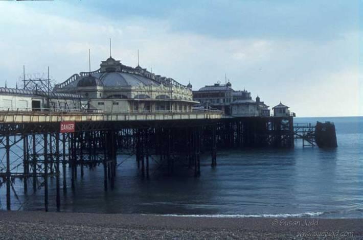 Brighton West Pier 1980s