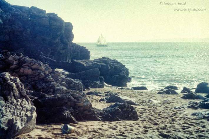 Cornish beach, 1960s