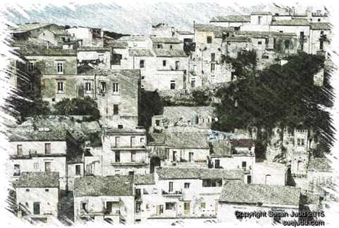 Roofscape, Ragusa