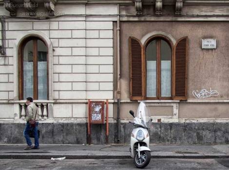 Street Scene, Catania: original