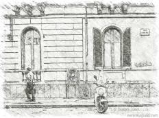 Street scene, Catania: week 2