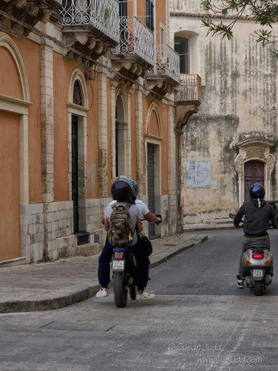 Scooters in Ragusa