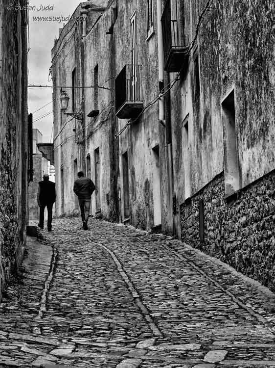 Street scene, Erice, Sicily