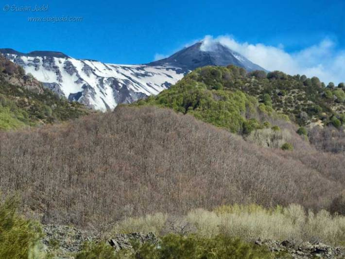 Etna's lower slopes