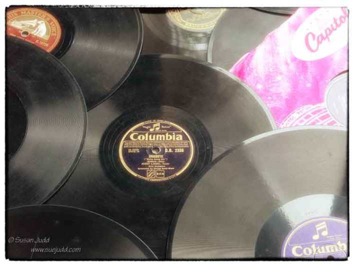 Stack of 78s
