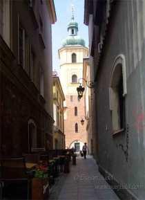 Scene in an alley