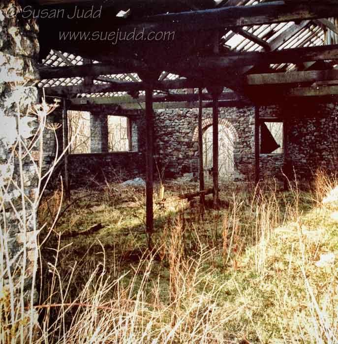 Hendre Quarry ruin, 1987