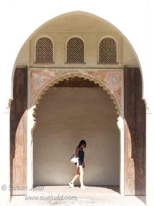 at the Inner Citadel of the Alcazaba, Málaga