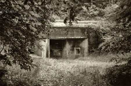 Decaying Maginot fort