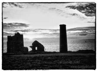 Wheal Coates at sunset