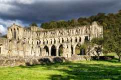 Rain clouds over Rievaulx