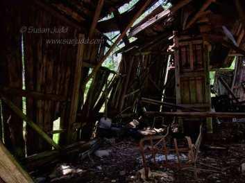 Peatery ruin