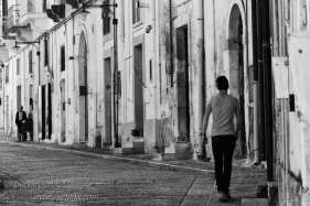 Street scene, Matera