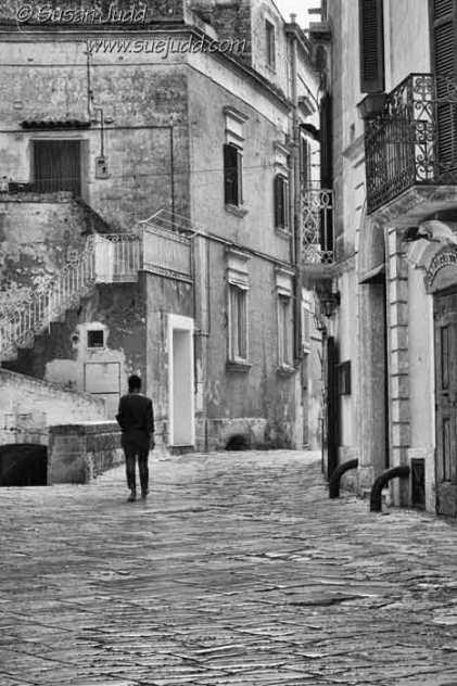 Side street,Matera